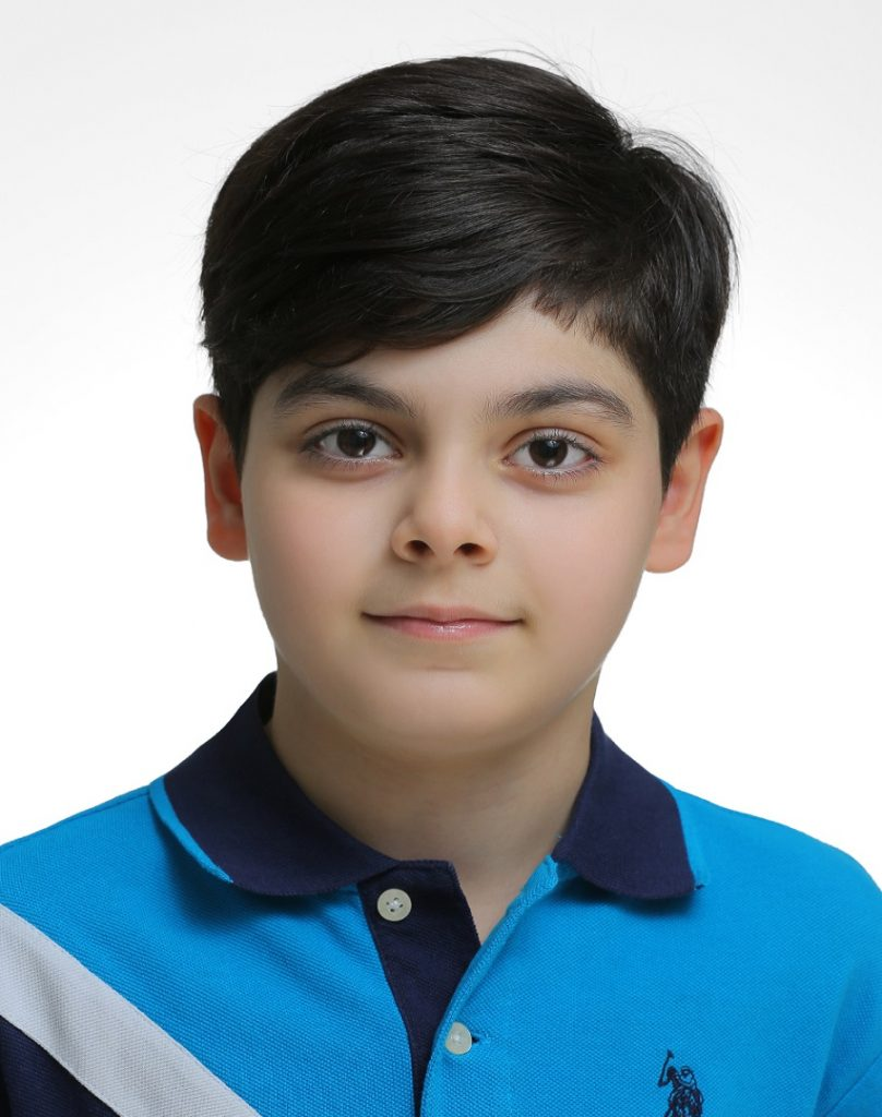 عکس پرسنلی کودکان از اتلیه عکاسی ولنجک